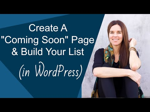 How To Create A Coming Soon Page In WordPress (Capture Leads Before You Launch)