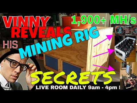 💥 Vinny Reveals his Top Mining Rig Building Secrets 💥 Ultimate Ethereum Mining Rig MINING RIG TIPS