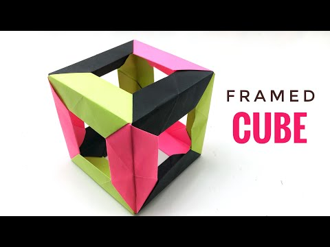 Origami Box (Traditional / Box Divider - Paolo Bascetta) - YouTube | 360x480