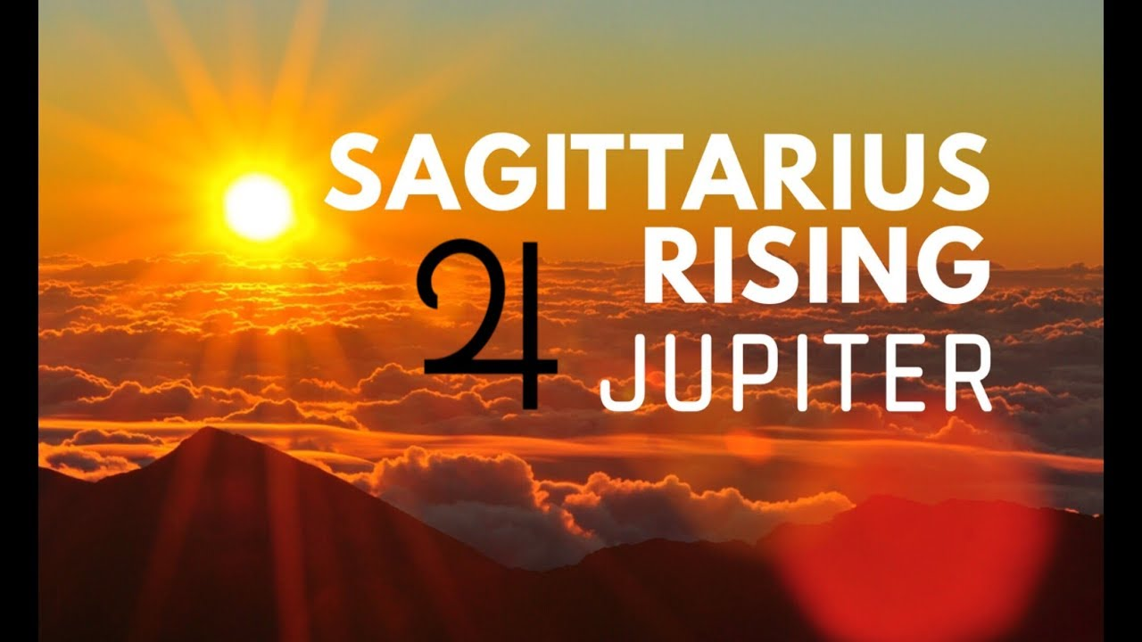 SAGITTARIUS RISING/ASCENDANT CHART RULER | JUPITER | Hannah's Elsewhere