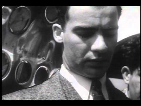 American Dick Merrill Flies Across Atlantic for Coronation