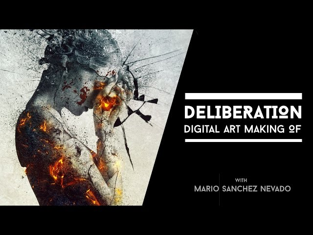 Deliberation - Photoshop Making of by Mario Sanchez Nevado