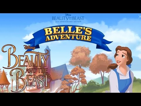Beauty and the Beast - Belle's Adventure Free Disney Website Game - Level 1 (Family Friendly!)