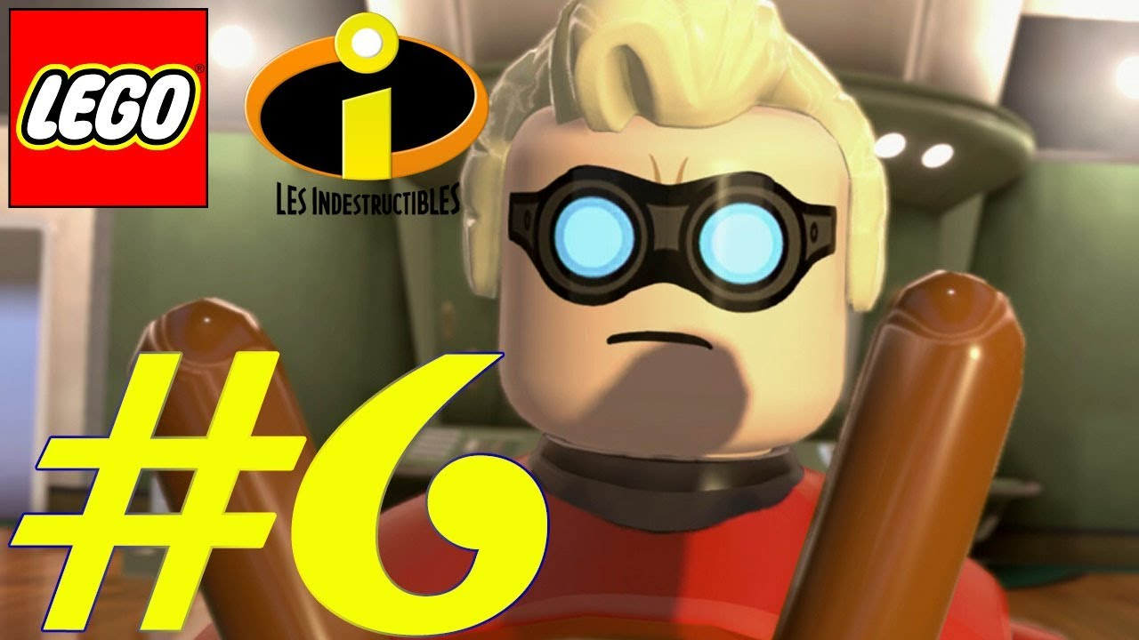 Lego Les Indestructibles Fr Gameplay 6 Confrontation Avec L