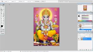 How to crop images in photoshop - Learn Photoshop in Gujarati