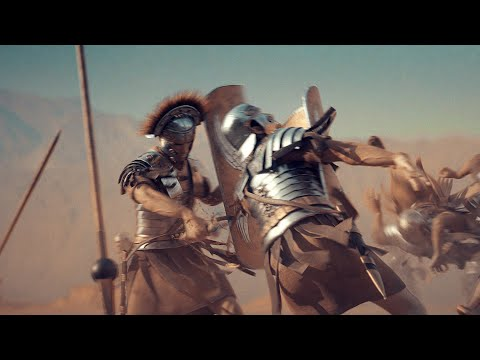 Crowd of CGI Soldiers - Ancient Rome 3D ( Blender VFX Cinematic Animation )