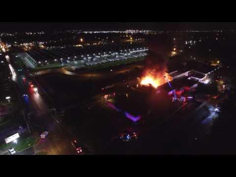3 Alarm Fire Champaign, IL