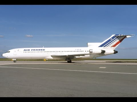 FSX - PARIS TO BIARRITZ - BOEING 727 200F AIR FRANCE ONLINE AT IVAO