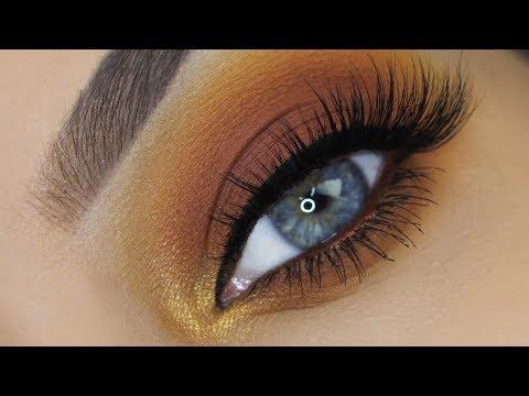 easy-warm-brown-eye-makeup-tutorial- -nyx-cosmetics-swear-by-it-palette