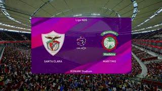 Santa Clara vs Marítimo PES 20 Liga NOS Live Gameplay