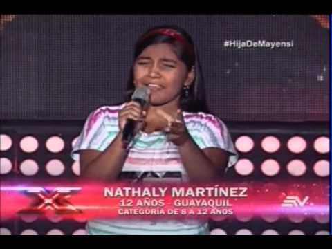 Nathaly Martínez - Ya Te Olvidé  | (Programa 2) Casting Factor X Kids Ecuador 2015