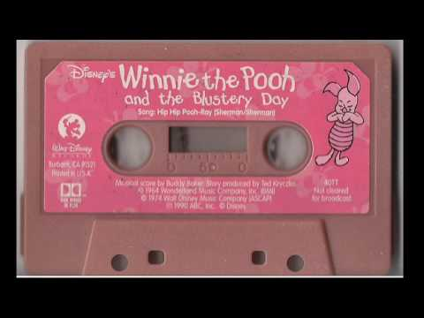 Winnie the Pooh and the Blistery Day Cassette Tape