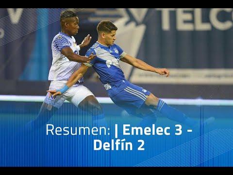 Emelec Delfin Goals And Highlights