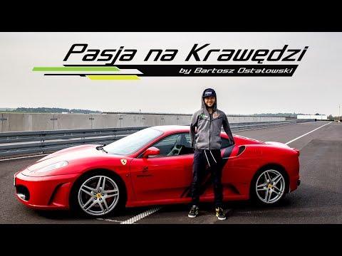 Czerwone marzenie każdego automaniaka, Ferrari F430  Pasja na Krawędzi