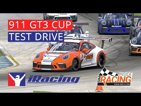 iRacing Porsche 911 GT3 Cup Hosted Race at Sebring – Billy's Onboard