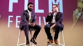 JOHN DAVID WASHINGTON in conversation about BlacKkKlansman directed by Spike Lee  SCAD Film Festival