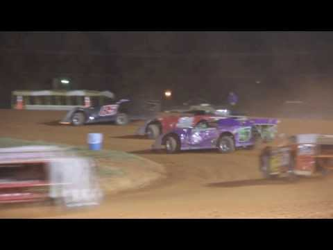 Late Model racing at Cleveland County Fairgrounds 9-30-13
