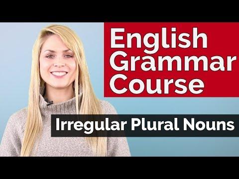 English Grammar Course | Irregular Plural Nouns #3