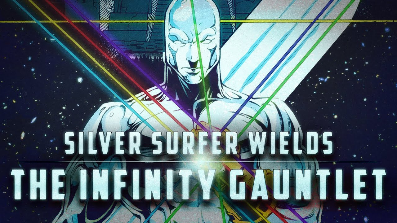 Silver Surfer Takes Control of the Infinity Gauntlet
