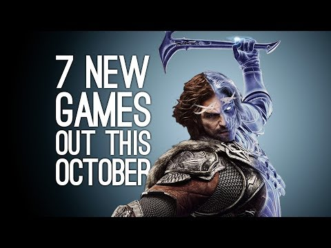7 New Games out in October 2017 for PS4, Xbox One, Switch, PC