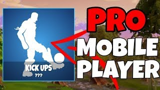 #1 Fortnite Mobile Player // Android Download! // New Kick Ups Emote! // Fortnite Mobile Livestream