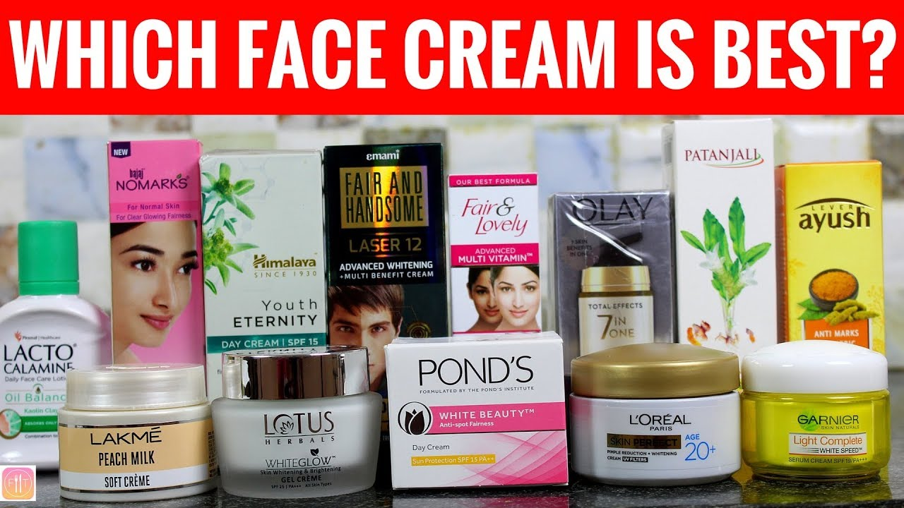 Best Skin Care Cream 20 Face Creams In India Ranked From Worst To Best