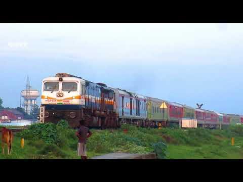 A beauty of Padatik Express | First LHB run to New Alipurduar