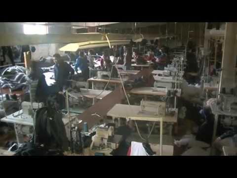нелегальный цех по пошиву одежды