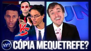 YouTuber COPIA New York Treta, Leon DETONA Nando Moura após ataque e Rogério Betin JUDAS do YouTube