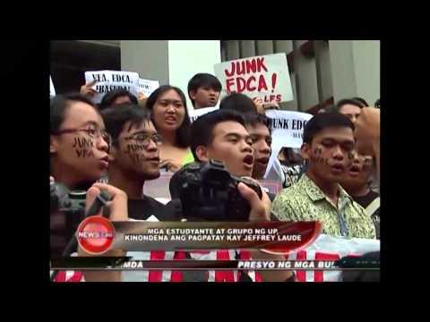 UP teachers and students condemn Jeffrey Laude's death