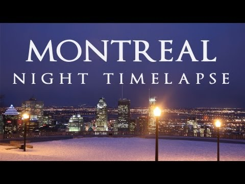 Night Lights - Montreal Night Timelapse