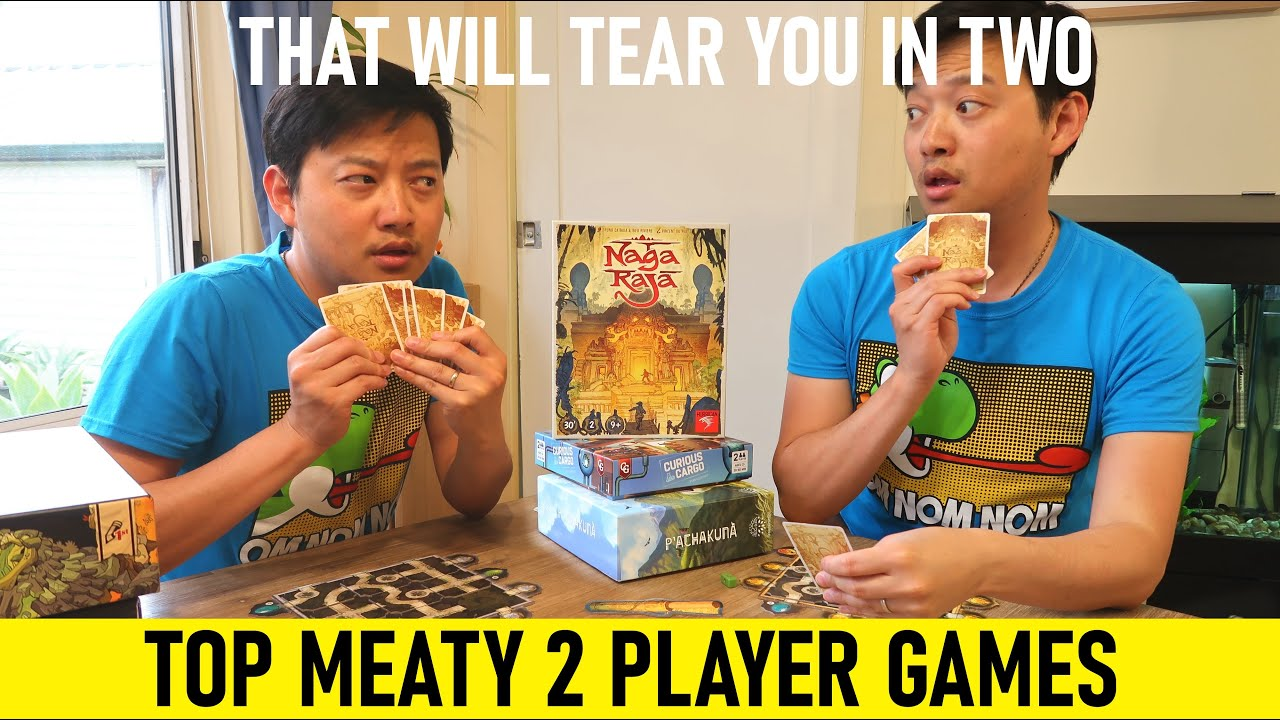 Top Meaty 2 Player Board Games That Will Tear You In Two | Top Couples Games
