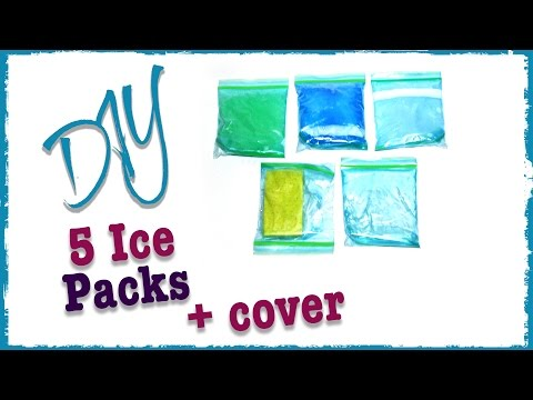 5 ways to make Ice Packs | DIY | Diving Head First