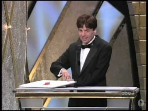 Mike Myers and Bart the Bear at the Oscars®