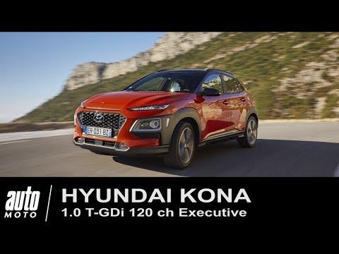 2018 Hyundai Kona 1.0 T GDi ESSAI POV Auto Moto.com