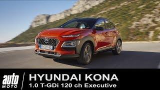 2018 Hyundai Kona 1.0 T-GDi Executive ESSAI Auto-Moto.com