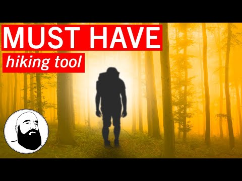 THE MOST AMAZING HIKING STAFF EVER!