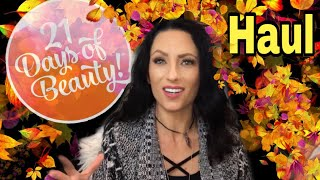 Ulta Fall 21 Days Of Beauty Haul