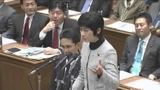 西村智奈美vs安倍晋三2/10 衆院・予算委員会
