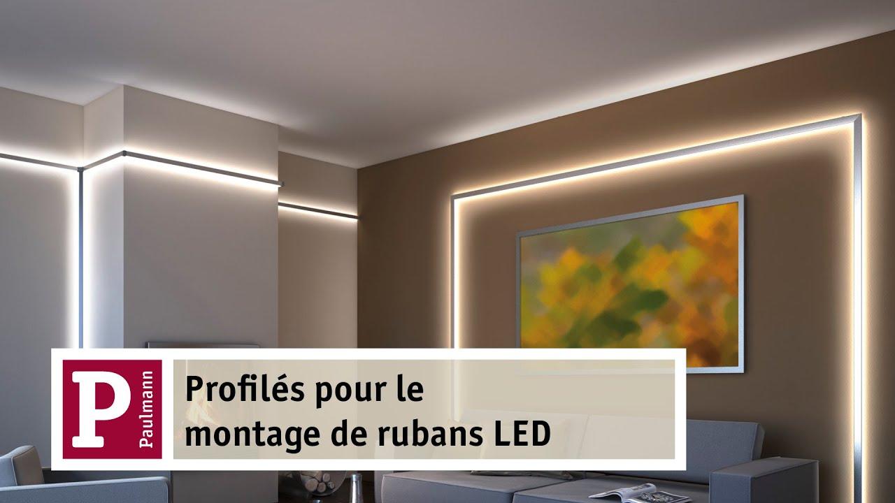 Avec les rubans LED et le Duo ou Delta Profiles en aluminium crez votre clairage indirect