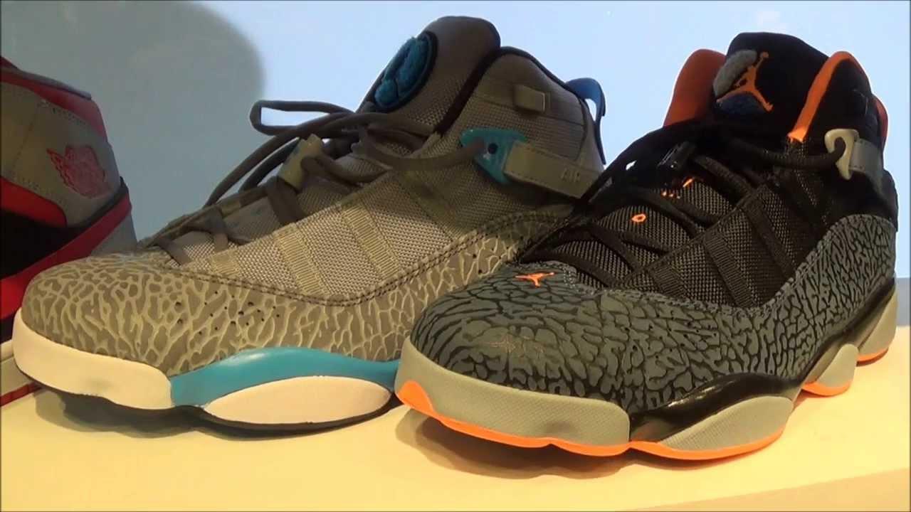 buy online 22518 24d9a 2014 Air Jordan 6 Ring Grey Powder Blue + Atomic Orang Black Sneaker  Reviews W  Dj Delz  DJDelz - YouTube