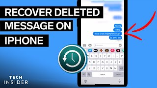 How To Recover A Deleted Text From Your iPhone