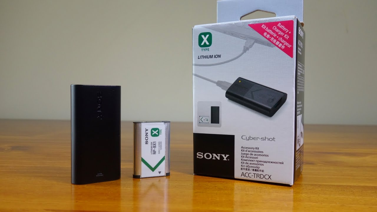 Sony Acc Trdcx Bx1 Battery And Travel Charger For Rx100