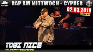RAP AM MITTWOCH NÜRNBERG: 02.03.18 Die Cypher feat. TOBI NICE, TOMMY2LATE uvm. (1/4)