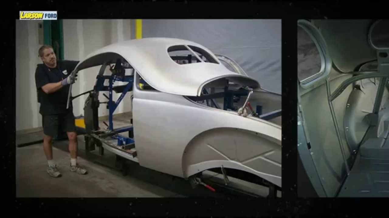 Reproduction Of The 1940 Ford Coupe Body Shell