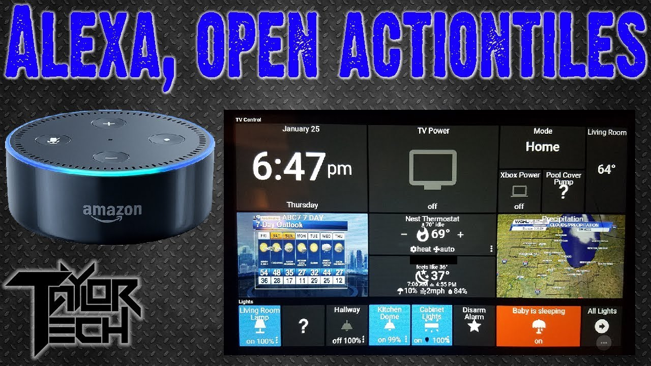 Ultimate Home Automation Tablet Setup!