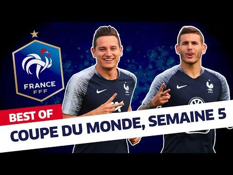Équipe de France : Best Of des Bleus (semaine 5) I FFF 2018