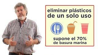 Ley para reducir el uso de plásticos. Juantxo López-De Uralde