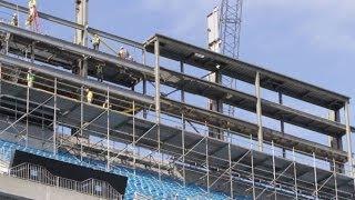 Carolina Panthers Stadium Renovations Inside Look