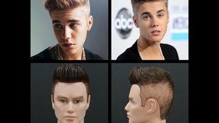 Justin Bieber Haircut Tutorial 2014